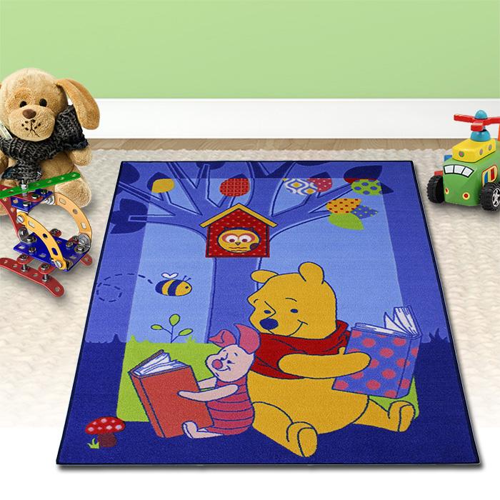 133x95cm Disney Winnie Pooh Kinder Teppich Spiel Kinderzimmer ...