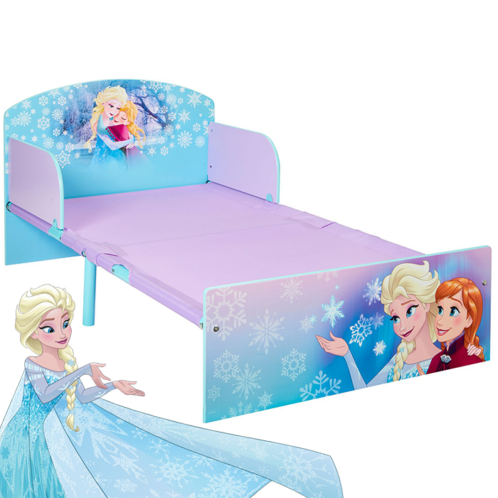 disney frozen anna elsa kinderbett jugendbett juniorbett. Black Bedroom Furniture Sets. Home Design Ideas