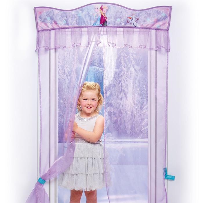 Disney frozen eisk nigin t rdeko vorhang gardine t r fenster deko kinderzimmer 4250913153492 ebay - Kinderzimmer eiskonigin ...