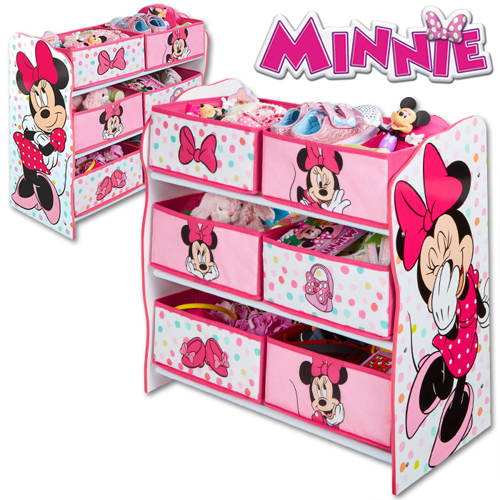 disney kinderregal regal aufbewahrung spielzeugkiste spielzeugbox kinderm bel ebay. Black Bedroom Furniture Sets. Home Design Ideas