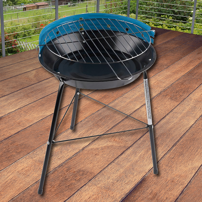 holzkohlegrill inkl grillzange grill klein festival bbq standgrill campinggrill ebay. Black Bedroom Furniture Sets. Home Design Ideas