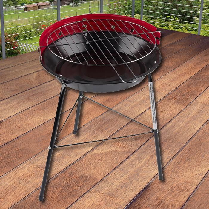 holzkohlegrill inkl grillzange grill klein festival bbq standgrill campinggrill ebay. Black Bedroom Furniture Sets. Home Design Ideas
