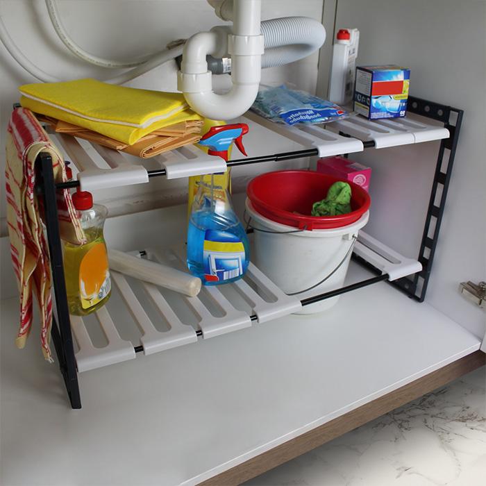 unterregal k chenregal badregal k che badezimmer regal ablage schrank ausziehbar ebay. Black Bedroom Furniture Sets. Home Design Ideas