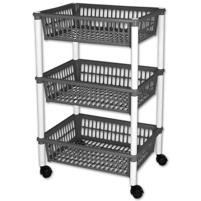NEU Vorratswagen Küchenwagen Aufbewahrungsregal Küchentrolley Küche ...