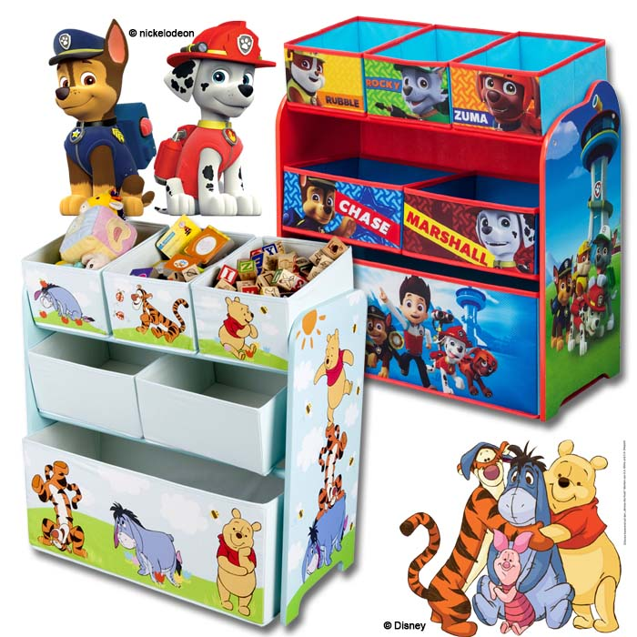 disney spielzeugkiste spielzeugtruhe spielzeugbox kinderm bel kinderregal regal ebay. Black Bedroom Furniture Sets. Home Design Ideas