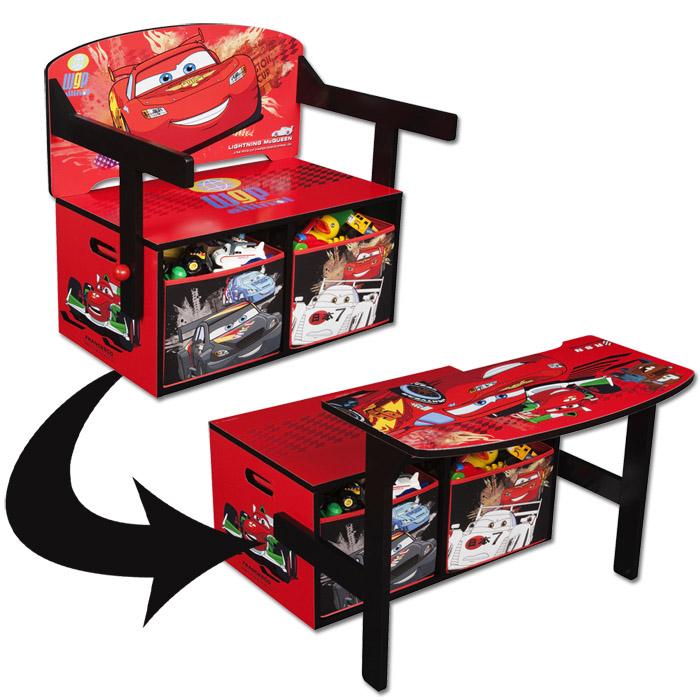 disney 3in1 kinderbank sitzbank schreibtisch kinderm bel kinder truhe holz bank ebay. Black Bedroom Furniture Sets. Home Design Ideas