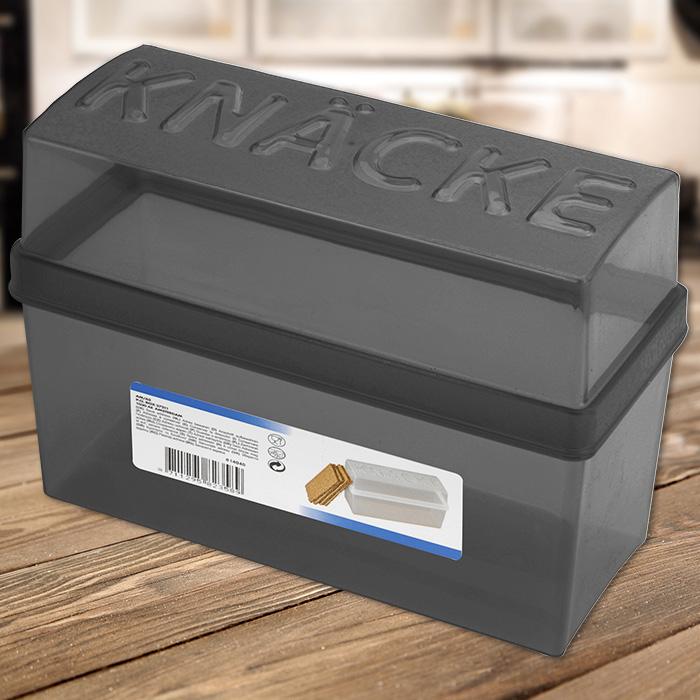 Küche Knäckebrotdose Knäckebrotbox Knäckebrot Box Brotbox Brotkasten Knäcke Brot NEU