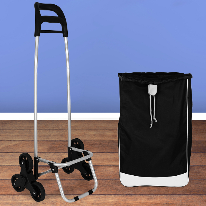 einkaufswagen treppensteiger einkaufstrolley einkaufsroller trolley shopper neu ebay. Black Bedroom Furniture Sets. Home Design Ideas