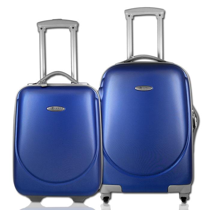 2tlg trolley set koffer handgep ck bordgep ck reisekoffer. Black Bedroom Furniture Sets. Home Design Ideas