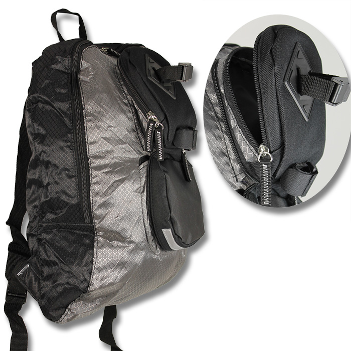 2in1 satteltasche mit rucksack fahrradtasche fahrrad tasche gep cktasche neu ebay. Black Bedroom Furniture Sets. Home Design Ideas