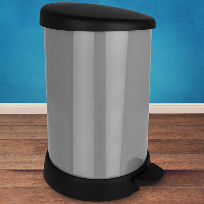 Details zu 20L Treteimer Mülleimer Abfalleimer Abfallbehälter Müllsammler Tretmülleimer NEU