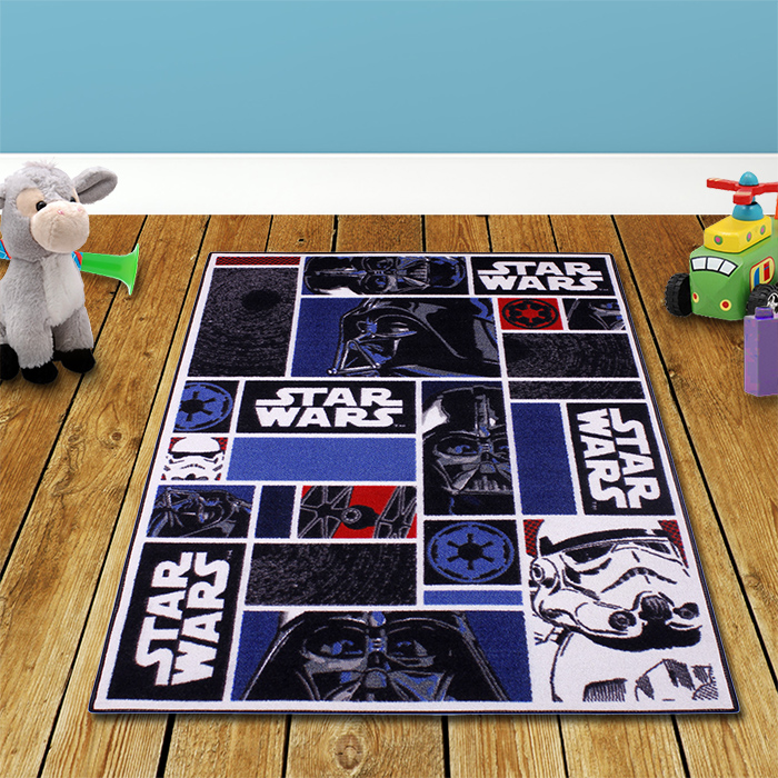 star wars kinderteppich spielteppich spiel teppich jungen. Black Bedroom Furniture Sets. Home Design Ideas