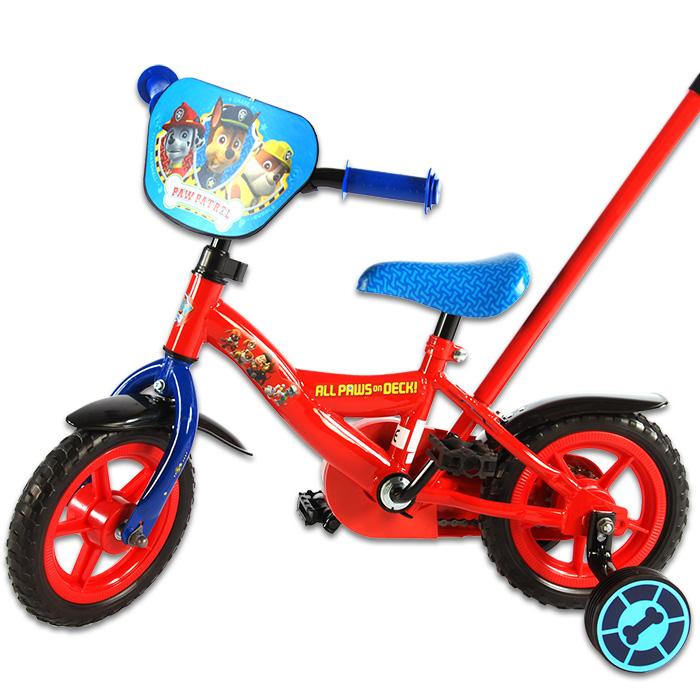 10 zoll kinderfahrrad paw patrol kinderrad kinder fahrrad. Black Bedroom Furniture Sets. Home Design Ideas