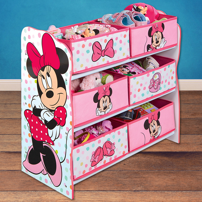 disney minnie kinderregal aufbewahrungsregal kinder. Black Bedroom Furniture Sets. Home Design Ideas