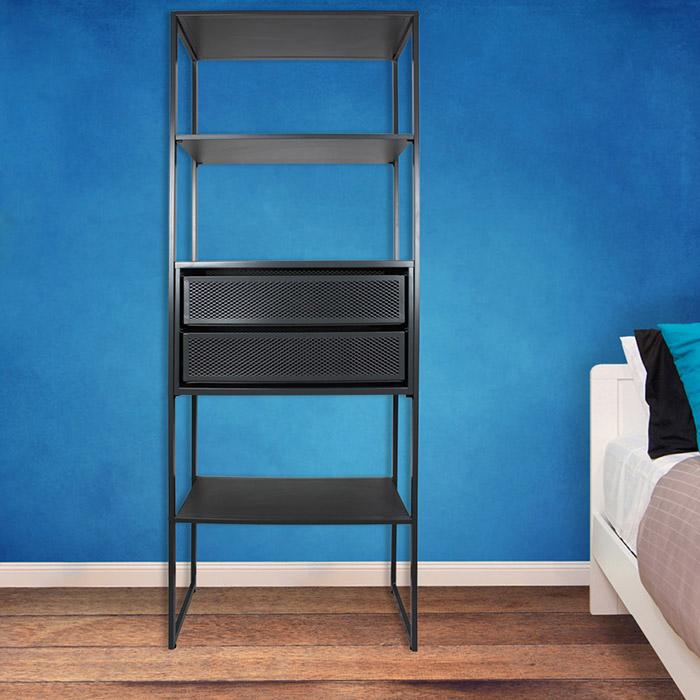 wandregal metall regal b roregal metallregal kellerregal lagerregal werkstatt ebay. Black Bedroom Furniture Sets. Home Design Ideas