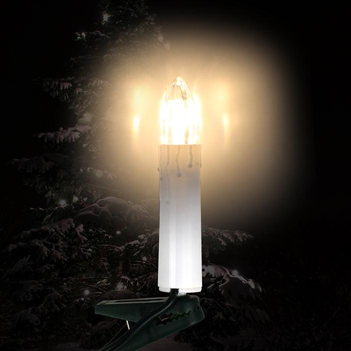 led 10 kerzen lichterkette weihnachtskerzen beleuchtung weihnachten warmwei neu 4250913158732. Black Bedroom Furniture Sets. Home Design Ideas